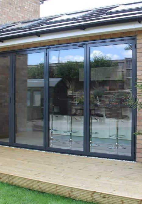 Double glazing installed bifold doors in South London